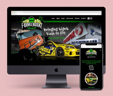 sign writers website-custom website package