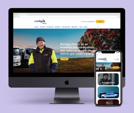 build a relationship with your website company rockgas portfolio